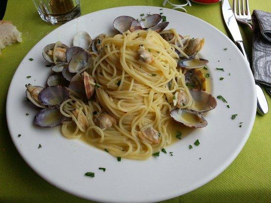 Il Marcantonio: Spaghetti alle vongole