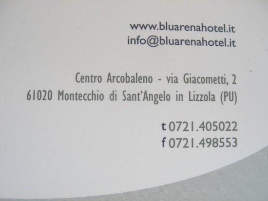Blu Arena Hotel : I dati dell'hotel