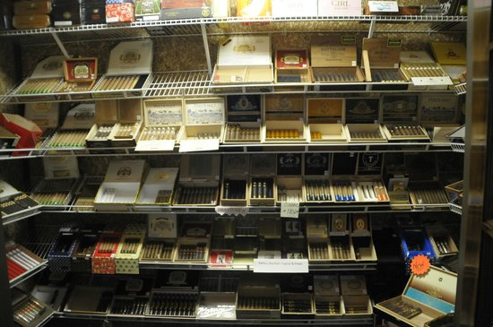 Wadfords Grill and Bar: A full humidor right next door at Mississippi's Only Cigar Bar.