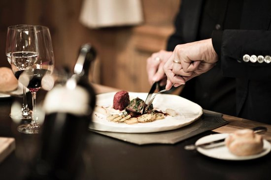 Restaurant Stuevas Rosatsch : bun appetit e viva!