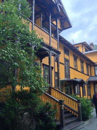 Dalen Hotel: Nydelig hotell med flotte detaljer