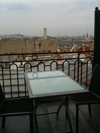 Hotel le Senat : terrasse de la chambre