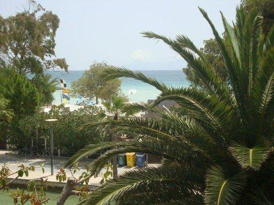 Aparthotel Orquidea Playa: Näkymä parvekkeelta
