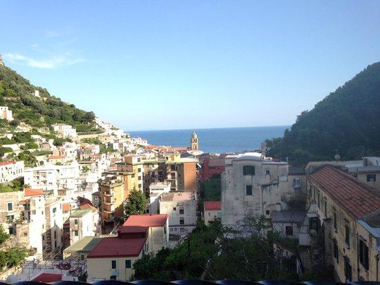 View from the balcony at Villa Lara