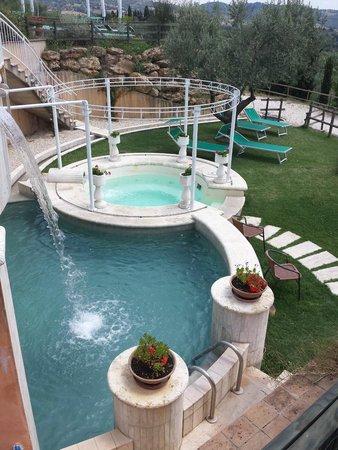Hotel Saturno Fonte Pura: vasche ad idromassaggio