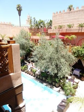 La Maison Arabe : view from our suite