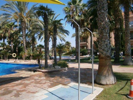 Hotel Alicante Golf: Piscina exterior