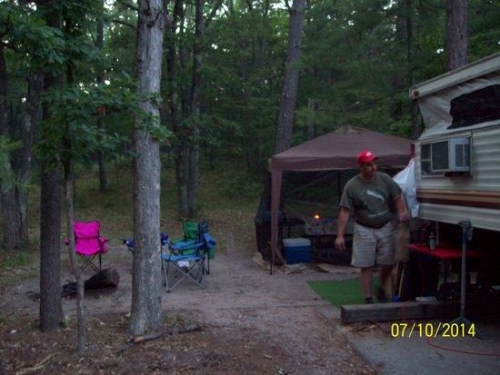 Platte River Campground: Campsite 104