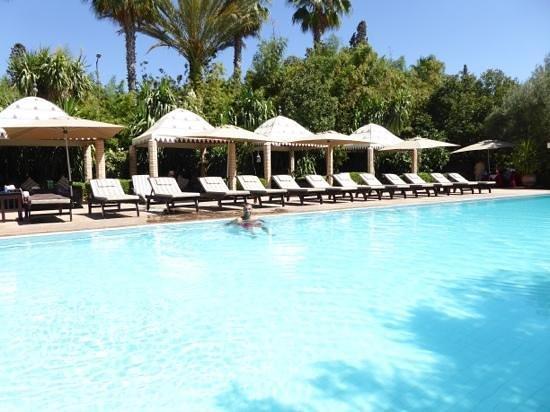 La Maison Arabe : spectacular pool