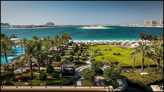 Jumeirah Zabeel Saray : JZS View from room 209 across The Palm