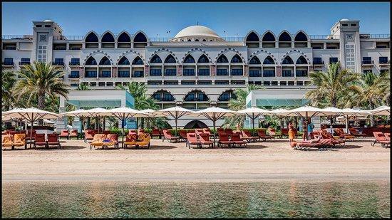 Jumeirah Zabeel Saray : JZS from sea across beach