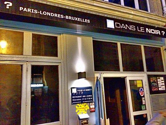 Dans le Noir ? : Restaurant view PARIS