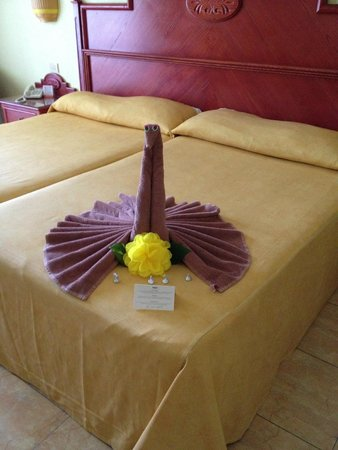 Hotel Riu Playacar : Camas
