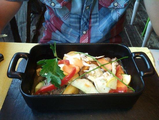 Cabanoix et Chataigne : l'agneau et ses légumes