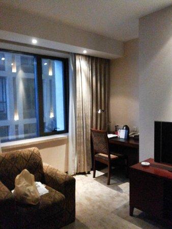 Mercure Wanshang Beijing: Janela do apartamento