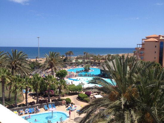 Hotel Elba Sara: Our view from 532