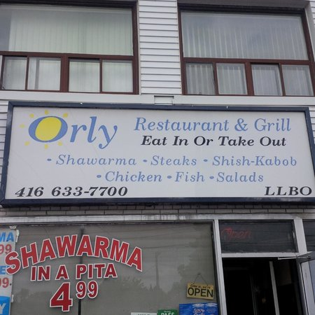 Photo of Middle Eastern Restaurant Orly Restaurant & Grill at 660 Sheppard Ave W, Toronto M3H 2S5, Canada