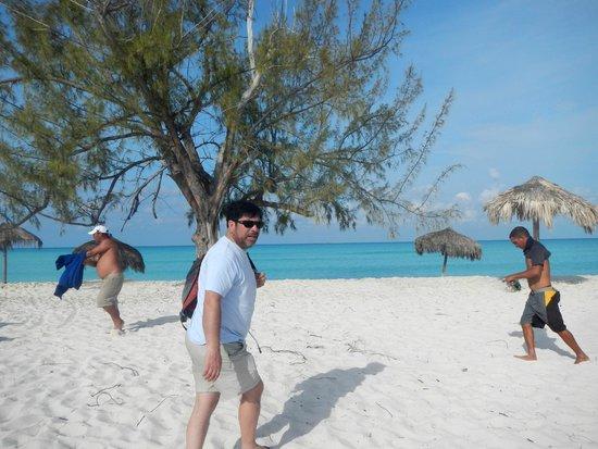 llegando a playa Paraiso