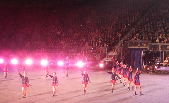The Royal Edinburgh Military Tattoo: New Zealand marchers