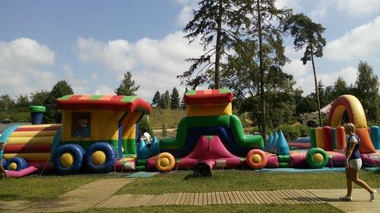 Papéa Parc : aire de jeux gonflable