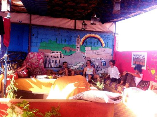 Rainbow Marrakech Hostel: Rooftop terrace