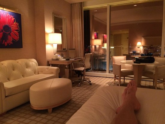 Wynn Las Vegas : View from the bed