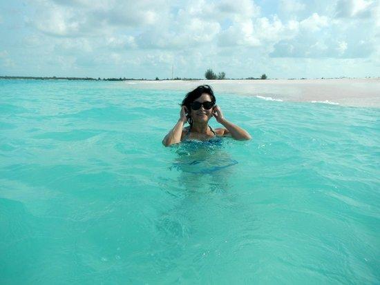 Playa Paraiso: aguas tibias, sin olas, y bajas
