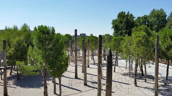 Madrid Rio : One of the play parks