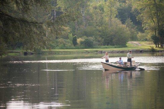 The Lodge at Glendorn: Fly-fishing at Bondieu Lake