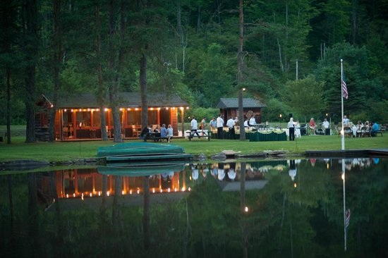The Lodge at Glendorn: Dinner at Bondieu