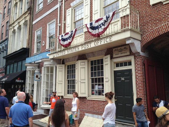 Free Tours by Foot : First US Post Office (run by Franklin)