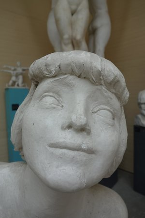 Rudolph Tegners Museum: Solpigerne, detail