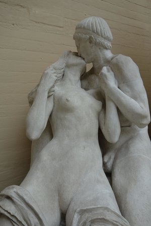 Rudolph Tegners Museum: Kysset, detail