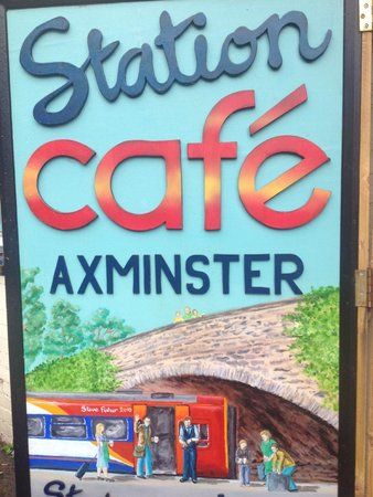Axminster station cafe
