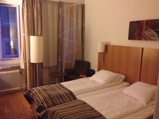 Scandic Billingen Skovde: Unser Zimmer