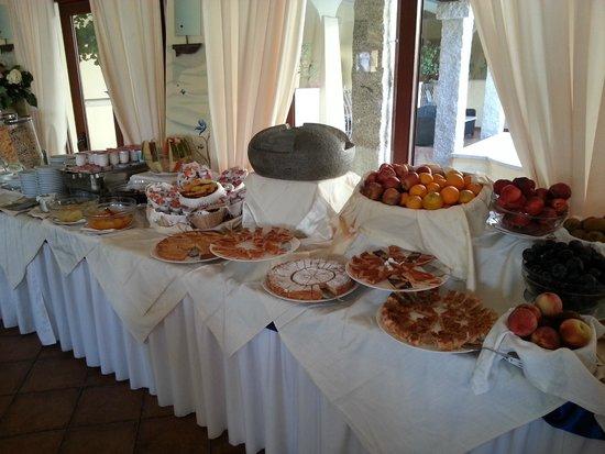 Speraesole: Buffet petit déjeuner