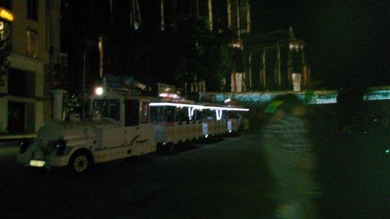 La Nuit des Chimeres : petit train