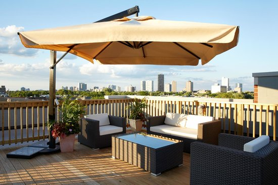The Guesthouse Hotel: Penthouse Roof Deck