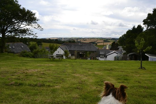 View from the garden at rear of Penvith Barns