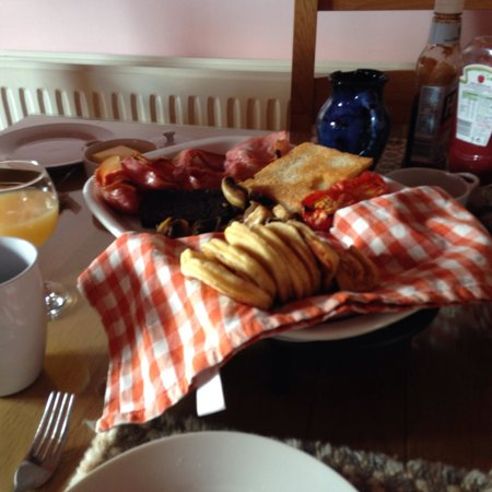 Pantasaph, UK: The best breakfast!