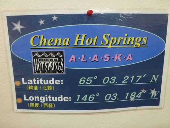 Chena Hot Springs Resort: Welcome to Chena Hot Springs
