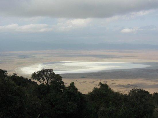 Ngorongoro Serena Safari Lodge: panorama serena lodge