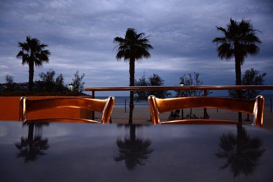 Hotel Monterrey : Soirée face à la mer