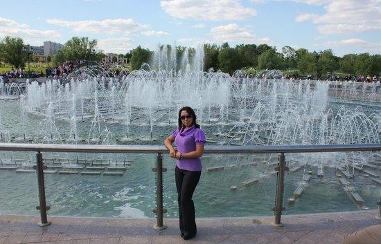 Hotel Orekhovo : Поющий фонтан в Царицыно
