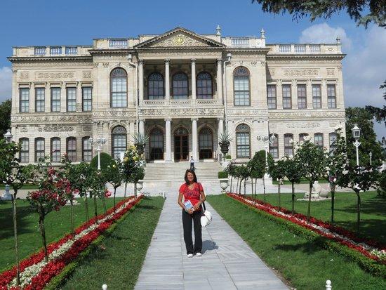 Palacio de Dolmabahçe: entrata del Palazzo Dolmabahçe