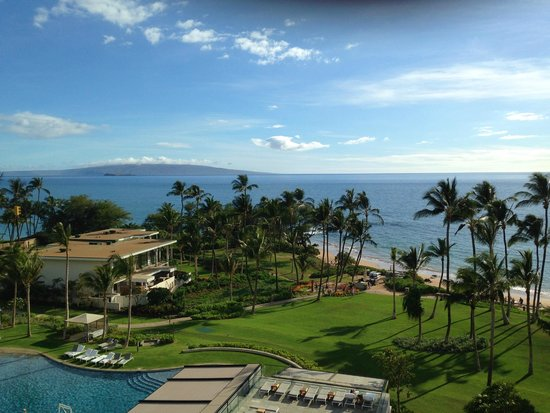 Andaz Maui At Wailea: Afternoon view from the deluxe ocean view room