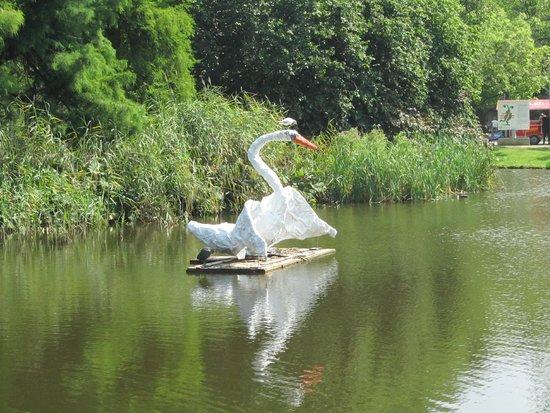 Vondelpark: één van kunstwerken