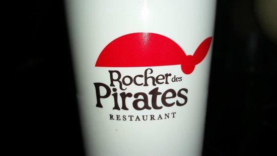 Le Rocher des Pirates: Verre de pirate