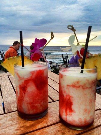 Kamuela Provision Company: Lava flows - the big island signature drink