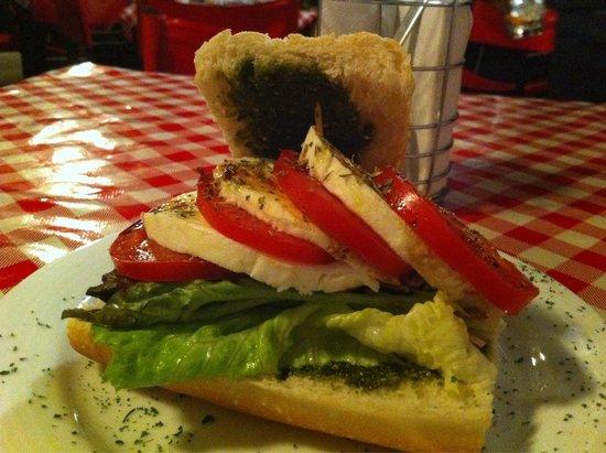 I Famosi Pasta: Baguette capri